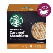 Nescafe Dolce Gusto Starbucks Caramel Macchiato (Pack of 3)