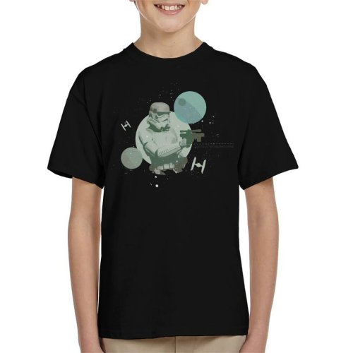 Star Wars Imperial Stormtrooper Ready To Blast Kid's T-Shirt