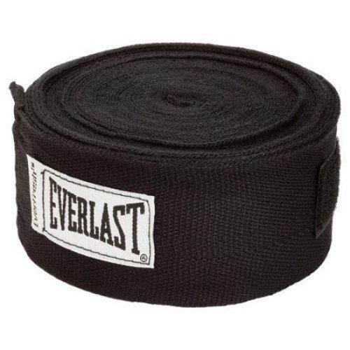 Everlast Worldwide 108 Inch Hand Wrap Black
