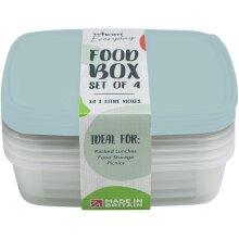 Wham Food Storage Box 1L Set 4 [35800]
