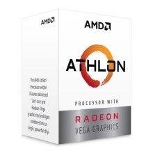 Amd Athlon 3000G Cpu Am4 3.5Ghz Dual Core 35W 4Mb Cache 14Nm 3Rd Gen Vega 3 YD3000C6FHBOX