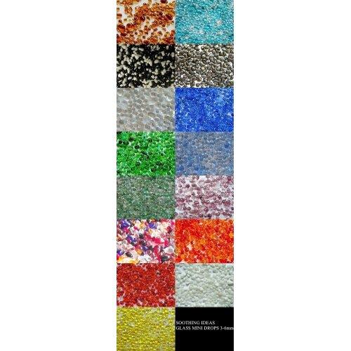 Glass Mini Pebbles 3-6mm