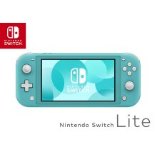 Nintendo Switch Lite Portable Console (Turquoise) - 2019 Model - Used