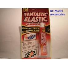 Fantastic Elastic Flexible Glue for Vinyl Leather Fabric Plastic Wood Shoes Glas