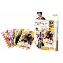 Shuffle Fun 4 in 1 Harry Potter Card Game