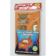 PIXAR Cars2 Kids Bathtime Build Your Own Car Foam Bath Puzzle TOW MATER