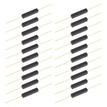20pcs Plastic Reed Switch Reed Contact Normally Open Magnetic Induction Switch