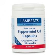 Lamberts Peppermint Oil Capsules 100mg 90 (8399-90)