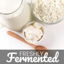 Certified Organic Fresh Milk Kefir Grains