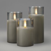 3pk Christow LED Remote Control Candles