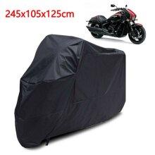 XL  Waterproof Outdoor Motorbike Bike Rain Cover XL Black Storage