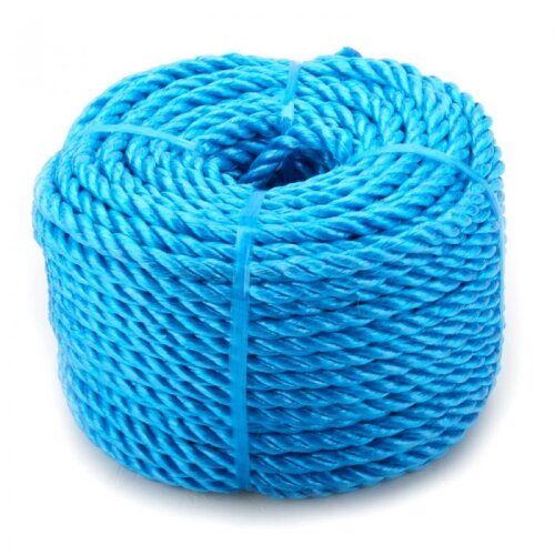 Oypla 8mm x 30m Blue Heavy Duty Poly Rope Coils Polypropylene PP