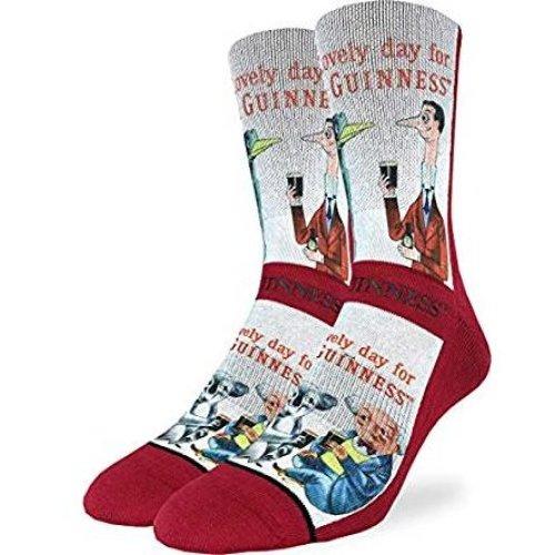 Socks - Good Luck Sock - Men's Active Fit - Lovely Day for a Guinness Panda (8-13) 4168