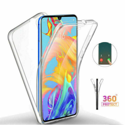 Case For Samsung Galaxy A51 Full 360 Protection Transparent Cover