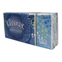 Kleenex Pocket Tissues 8 Pack White Facial Pocket Tissues
