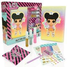 LOL Glitter Diary Set