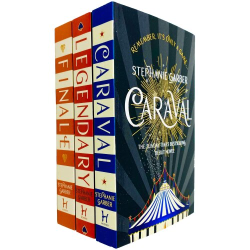Caraval Series Complete Trilogy Collection 3 Books Set