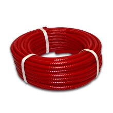 6mm Reinforced Red PVC Fuel pipe for Speedway