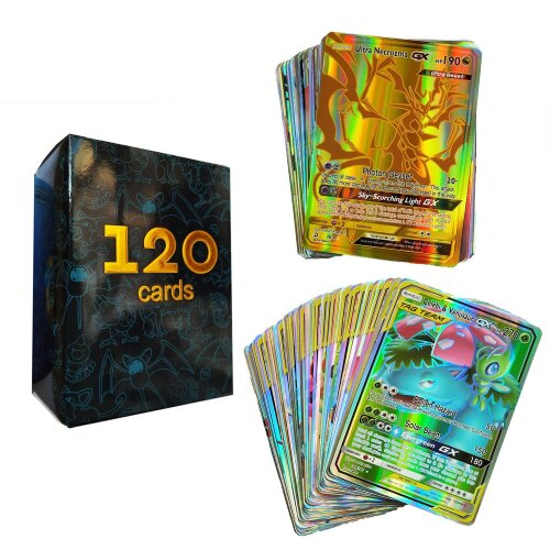 Battle Game Card GX EX Collection - Trading pokemone Cards For Fun, Type - 120GX CARD