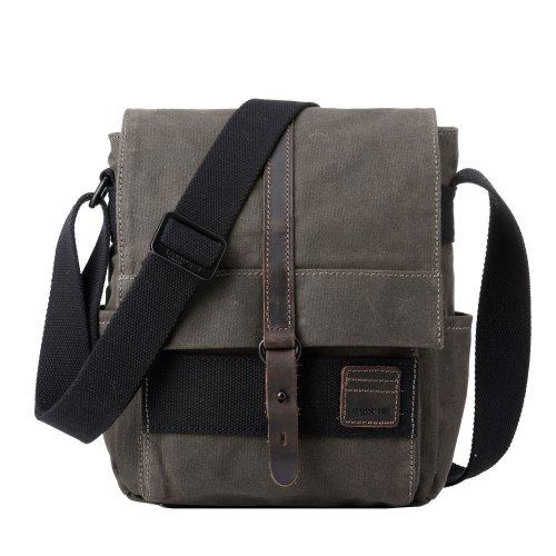 TRP0477 Troop London Classic Canvas Messenger Bag   Buy Bags Online   Canvas Messenger Bags   leather canvas backpack
