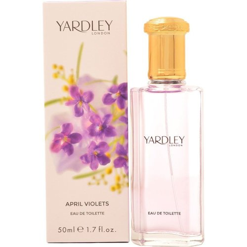Yardley April Violets Eau de Toilette 50ml EDT Spray