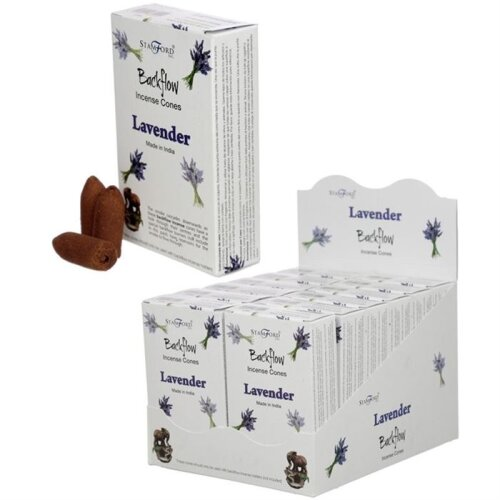 Backflow Incense Cones - Lavender by Stamford