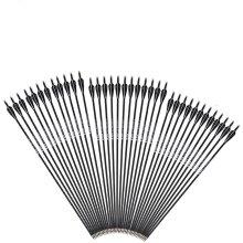 Spine Carbon/Fiberglass Arrow For Recurve/Compound Bows, Archery Hunting