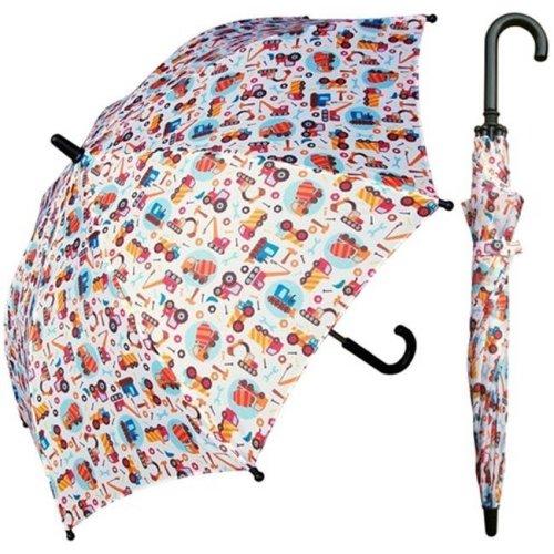 RainStoppers W104CHTRUCKS 32 in. Childrens Truck Print Umbrella, 3 Piece