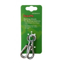 SupaFix Spring Hook To Swivel (Pack of 2)
