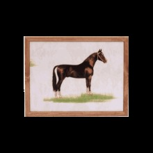 Ability Superstore Luxury Suede Horse Cushioned Lap Tray