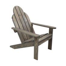 idooka Adirondack Chair Sun Lounger - Wooden Garden Furniture Reclining Garden Chair - Conservatory/Decking/Balcony/Patio Furniture Deck Chair