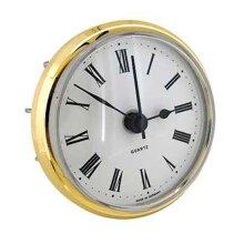 Quartz Clock Movement Insert, Roman Numerals 85 mm Dia & 17mm Seating