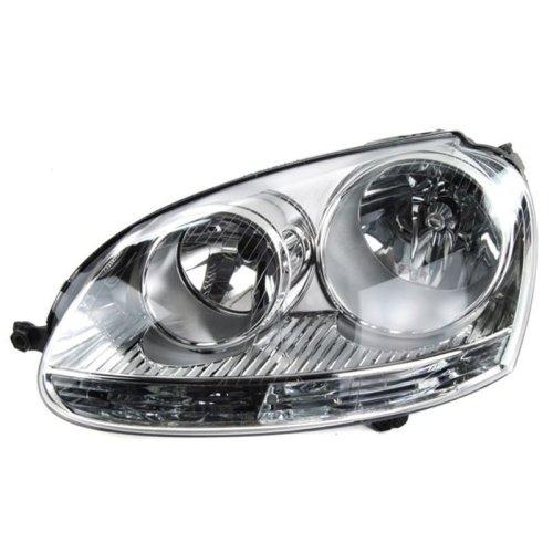 Vw Golf Mk5 2004-2009 Chrome Headlamp Headlight N/s Left