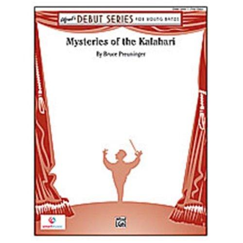 Alfred 00-26811 MYSTERIES OF THE KALAHARI-ADS SET4D