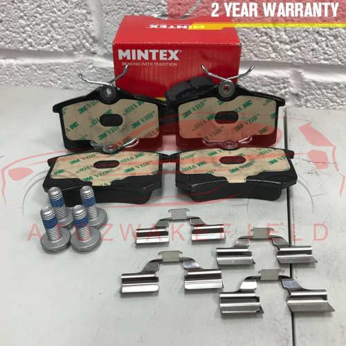 FOR SEAT ALTEA AROSA CORDOBA IBIZA LEON TOLEDO SC ST XL REAR MINTEX BRAKE PADS