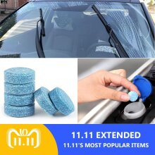 5pcs = 20L Car Windshield Glass Washer Cleaner Compact Effervescent Tablets Detergent car accessaries