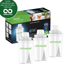Universal Aqua Optima 6, 12 Pack of Water Filters