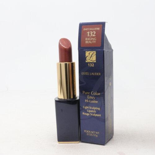 (132 Raging Beauty (Hi-Lustre)) Estee Lauder Pure Color Envy Sculpting Lipstick 0.12Oz New In Box