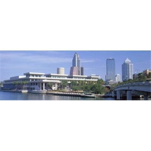 Tampa Convention Center  Skyline  Tampa  Florida  USA Poster Print by  - 36 x 12
