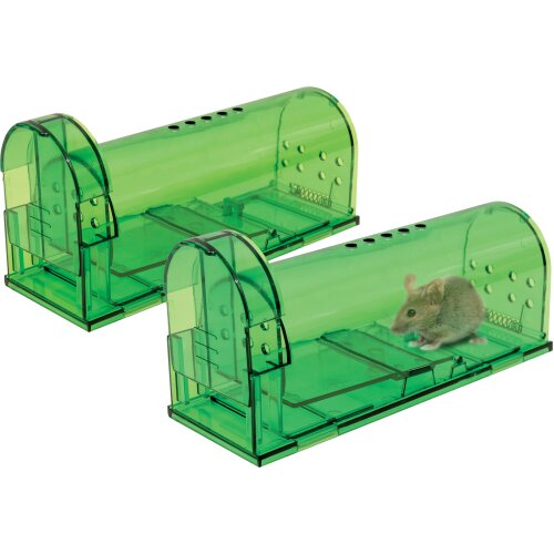 Mouse Traps Pack of 2 Humane Catch & Release No Kill Trap