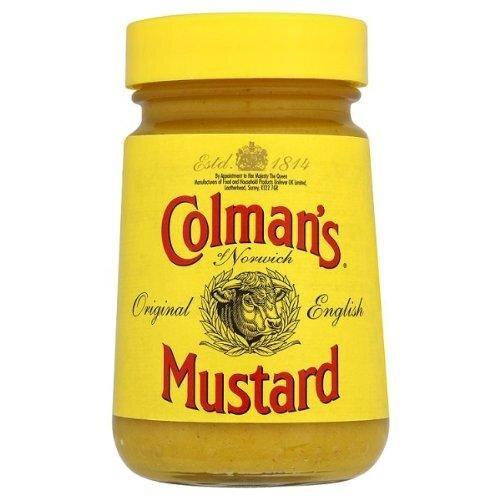 Colman's of Norwich Original English Mustard 6 x 100g