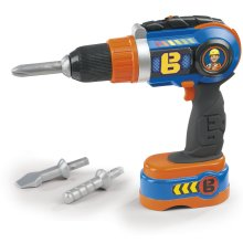 Smoby 360128 Bob The Builder Cordless Drill Mechanical Toy