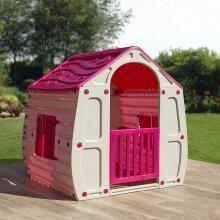 Starplast Pink Childrens Playhouse Wendy House