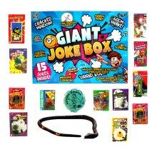 Giant Joke Box 15 Assorted Tricks Jokes Novelty Halloween Christmas