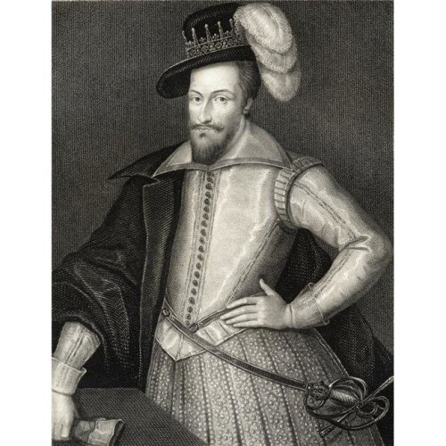 Henry Somerset 1St. Marquis of Worcester, C.1562-1646 From The Book -LodgeS British Portraits Published London 1823 Poster Print, 13 x 17