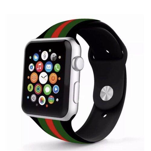 Apple Watch Silicone Sport Strap Gucci Design