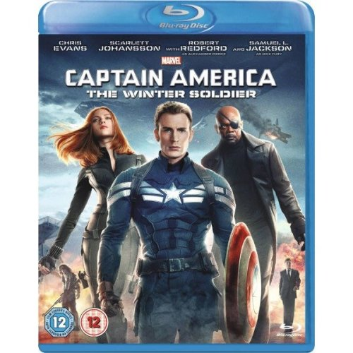 Captain America - The Winter Soldier Blu-Ray [2014]