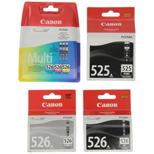 Canon PGI525-CLI526 Ink Cartridge (Pack of 6)