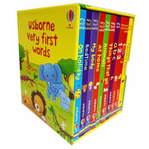 Usborne very first words Collection 10 Books Set