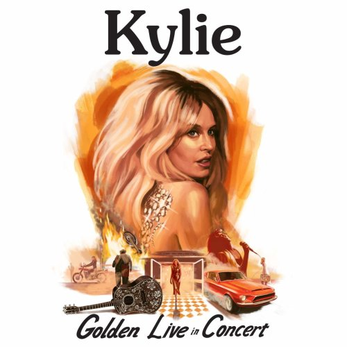 Kylie Minogue - Kylie - Golden - Live in Concert [CD]